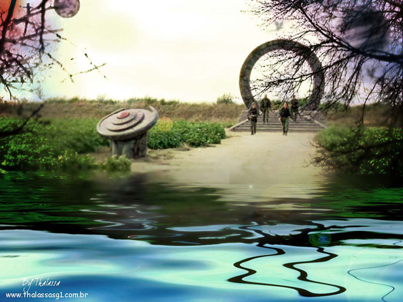 Flood The Sg 1 Team Arrives On A Flooded Planet Contributed By